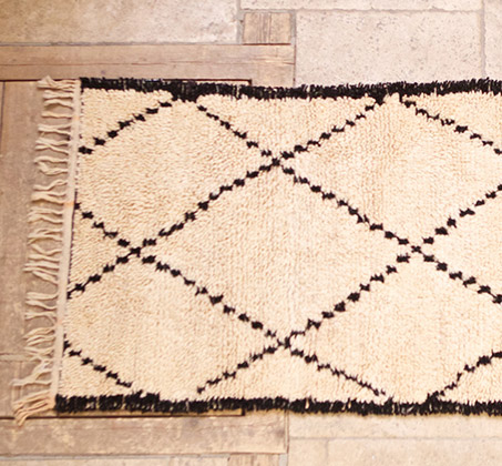 Vintage Tribal Moroccan Rugs For Sale